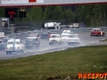 Ã&rspremiär för Racing Historiska Klubben i Anderstorp. Växlande väder med regnskurar.